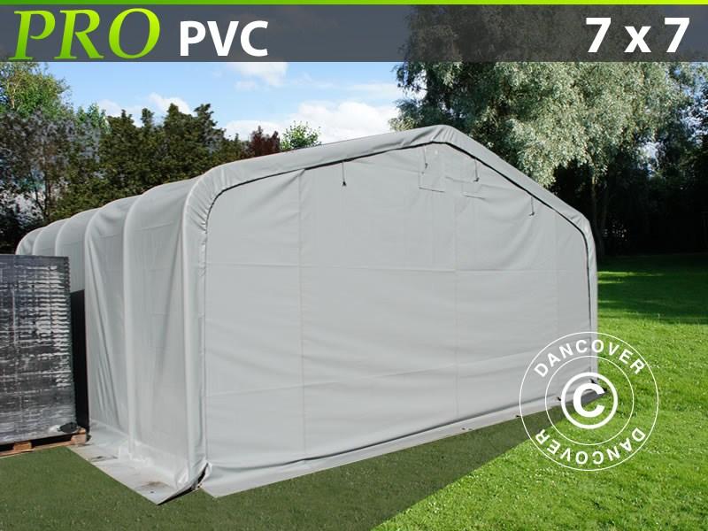 Varastoteltta -PRO-7X7X38-M-PVC